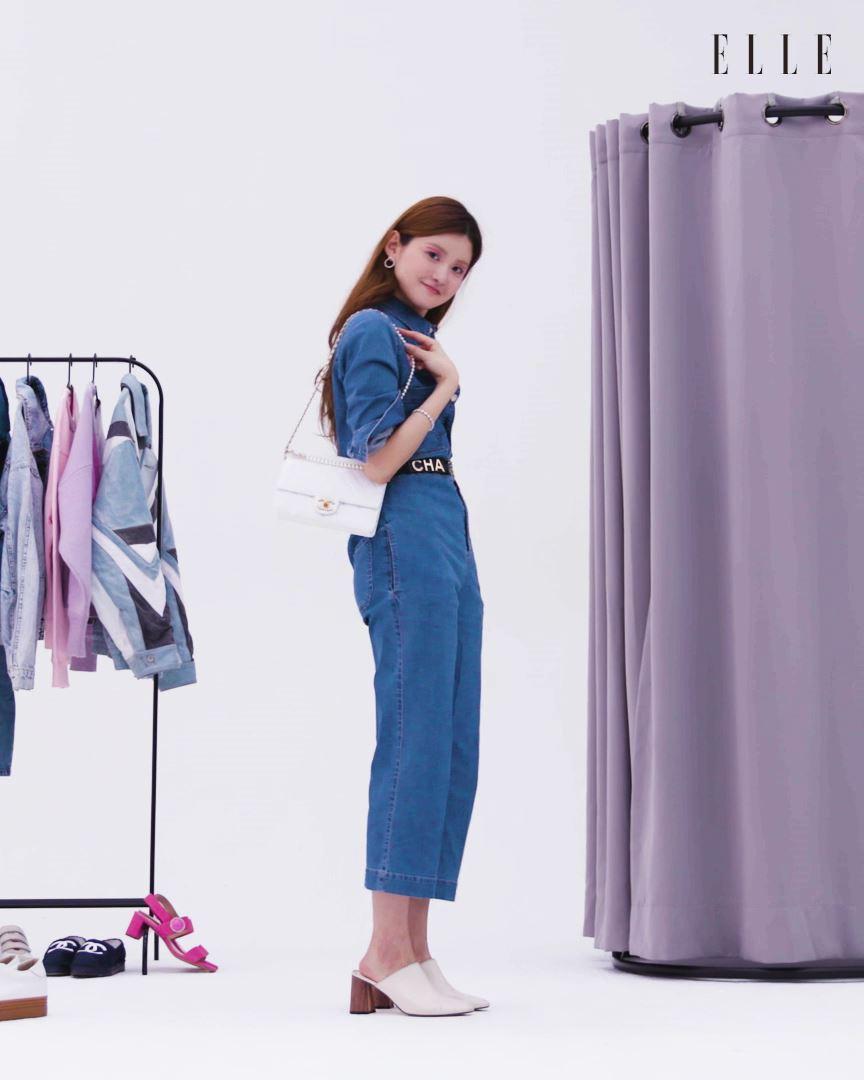 매일 입어도 질리지 않는 매력을 품은 옷장 속 전천후 아이템, 데님! 재킷부터 미니스커트, 점프수트와 팬츠 등등. '엘르' 피팅룸으로 초대된 5가지 데님 아이템으로 완성한 데일리 스타일링.